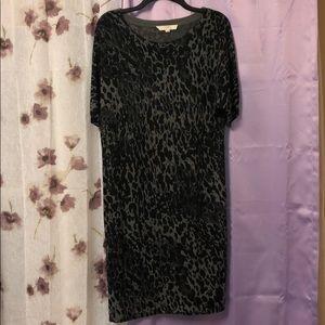 LOFT size L combat fatigue essence summer dress